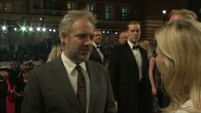 exterior night shots skyfall director sam mendes talks about working on a james bond film sam mendes speaks about working on james bond on october 23... - skyfall 2012 film stock videos and b-roll footage
