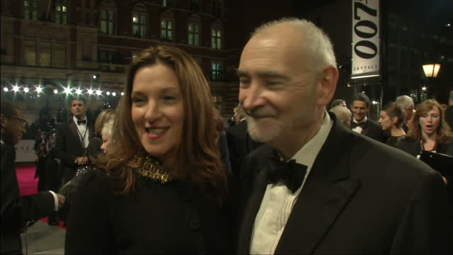 exterior night shots skyfall producers barbara broccoli michael g wilson speak about the cast 50 years of james bond barbara broccoli michael g... - skyfall 2012 film stock videos and b-roll footage