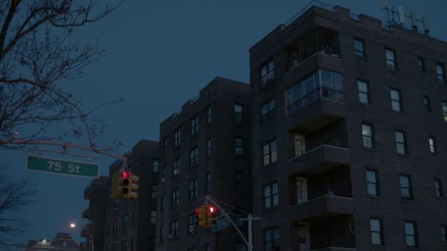 LA Exterior of apartment building in Queens / New York City, New York