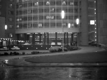 exterior of bbc television centre at night. - bbc stock videos & royalty-free footage