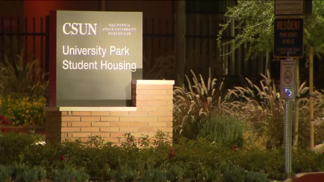 exterior of california state university, northridge. - northridge stock videos & royalty-free footage