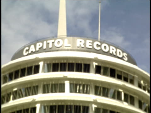Exterior of Capital Records Building