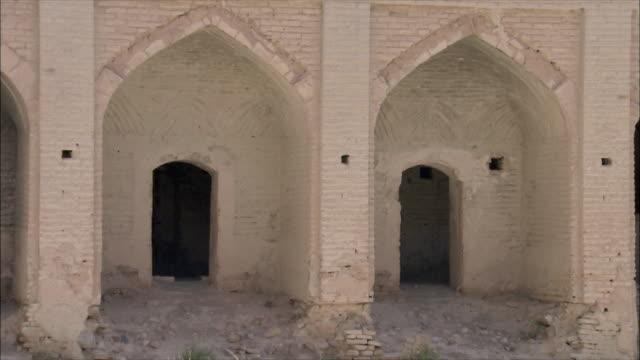 ms zi exterior of caravanserai, iran - inn stock videos & royalty-free footage