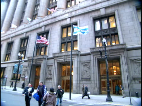 ms, zi, exterior of chicago city hall, chicago, illinois, usa - male likeness stock videos & royalty-free footage