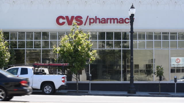 exterior of cvs health corporation stores in oakland california us on friday august 2 2019 - cvs caremark stock videos and b-roll footage