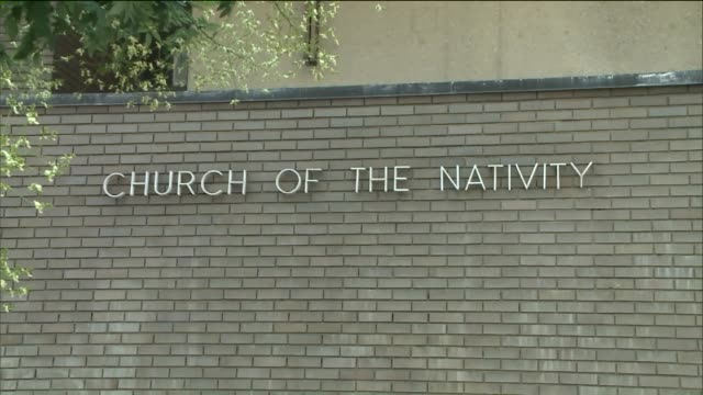 exterior of east village catholic church on 44 2nd ave new york - church of the nativity stock videos and b-roll footage