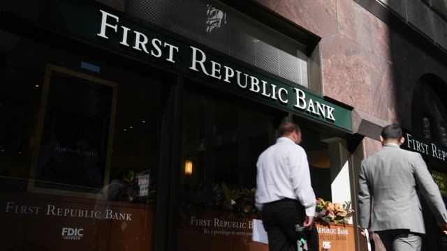 Exterior of First Republic Bank in San Francisco California on Friday March 31 2017