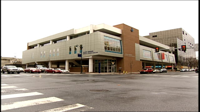 exterior of harrisburg hospital in harrisburg pa - pennsylvania stock-videos und b-roll-filmmaterial