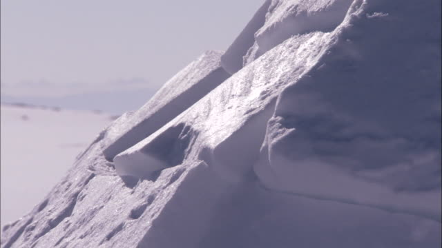 exterior of igloo available in hd. - igloo stock videos & royalty-free footage