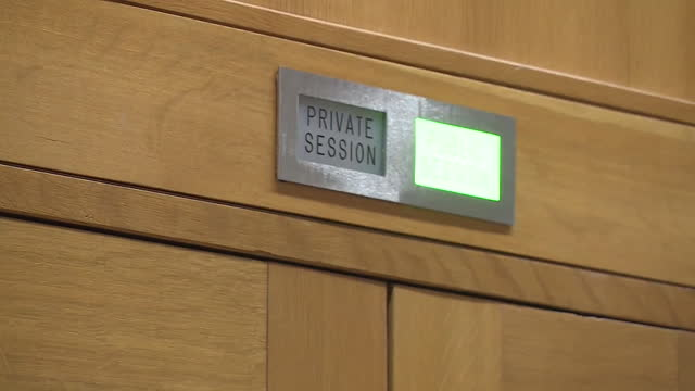 exterior of inquiry room, in the scottish parliament building, which is investigating the government's mishandling of sexual harassment complaints... - displeased stock videos & royalty-free footage