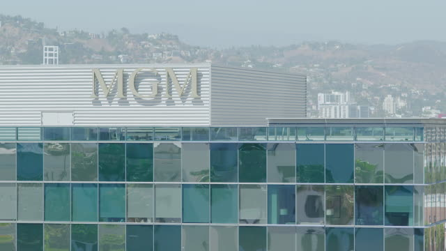 MS Exterior of MGM Tower at Century City / Los Angeles, California, United States