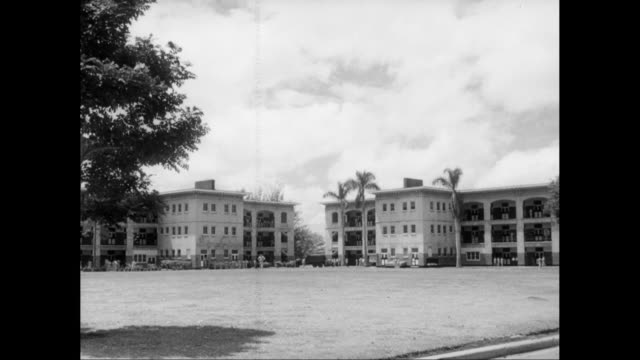 WS Exterior of military building / United States