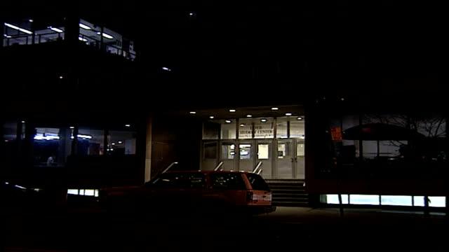 exterior of nyu loeb student center at night - new york university stock videos & royalty-free footage
