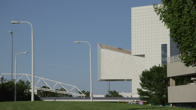 Exterior of Rock & Roll Hall of Fame