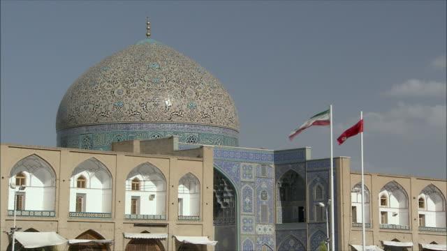 MS ZI Exterior of Sheikh Loftolla Mosque, Esfahan, Iran