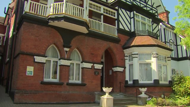 exterior of st ives lodge care home in essex where several residents have died from coronavirus - flatten the curve stock videos & royalty-free footage