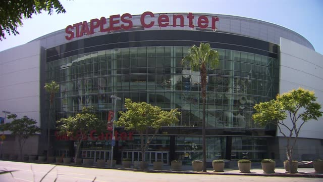 Exterior of Staples Center