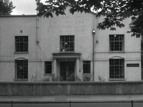 exterior of the bbc's television film studios in ealing - ealing stock videos and b-roll footage