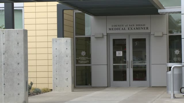 Exterior Of The County Of San Diego Medical Examiners' Office on June 16 2011 in San Diego California