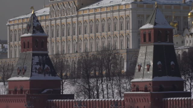 Exterior of the Kremlin in Moscow
