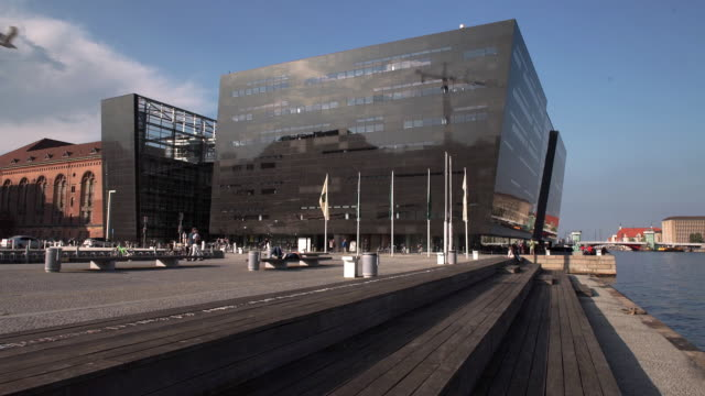 Exterior of the Royal Library in Copenhagen