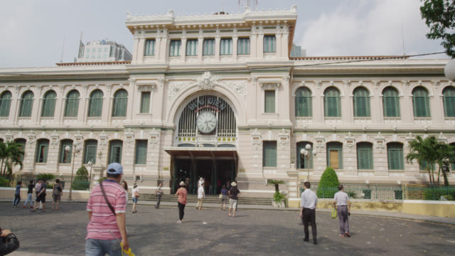 Exterior of the Saigon General Post Office