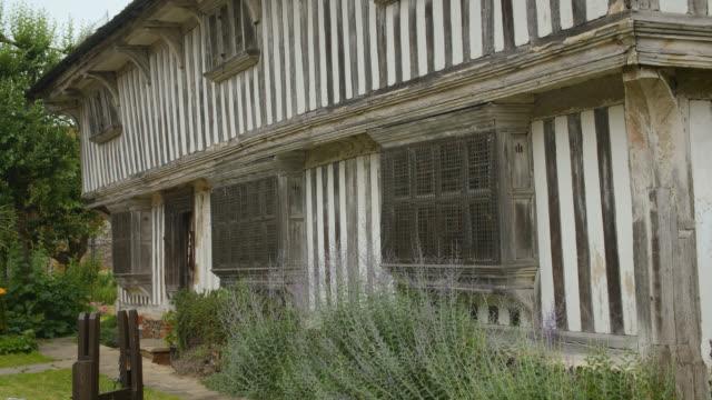 exterior of tudor house in margate, uk - kent england bildbanksvideor och videomaterial från bakom kulisserna