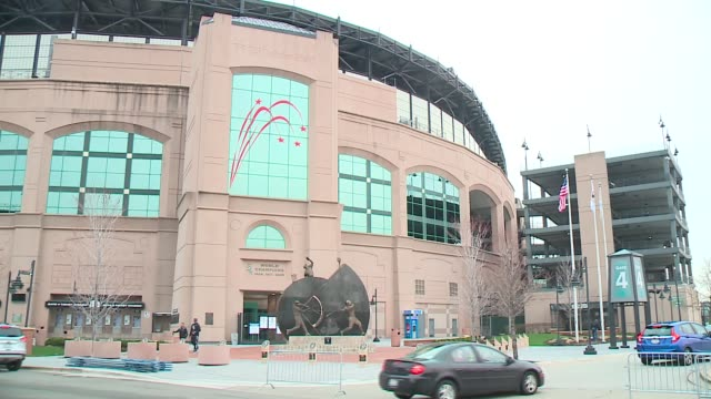 WGN Exterior of US Cellular Field on the White Sox 2016 Opening Day on April 8 2016