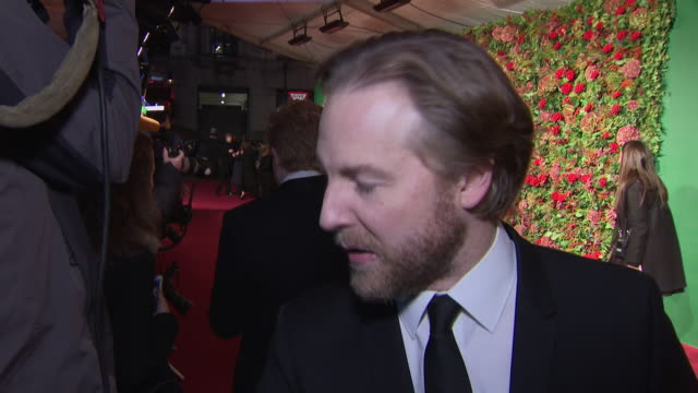 exterior red carpet interview with samuel west at the 64th evening standard theatre awards hosted in theatre royal on november 18 2018 in london... - theatre royal stock videos and b-roll footage