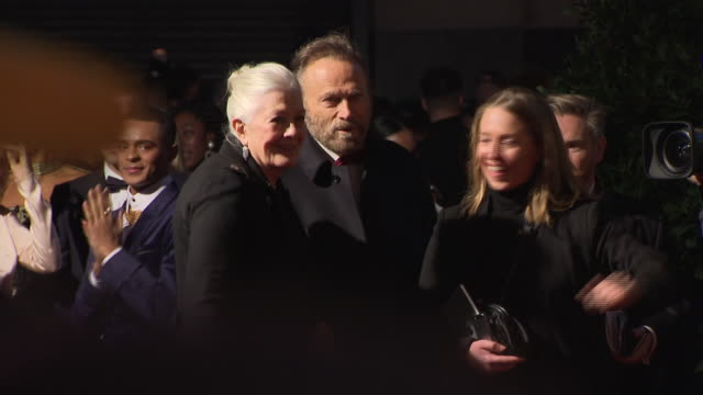 exterior red carpet shot of vanessa redgrave arriving at the 64th evening standard theatre awards hosted in theatre royal on november 18 2018 in... - theatre royal stock videos and b-roll footage