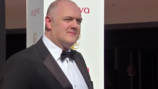 exterior shot dara o'briain presenter and comedian posing on red carpet dara o'briain at the tv bafta awards at royal festival hall on may 27 2012 in... - dara o'briain stock videos & royalty-free footage