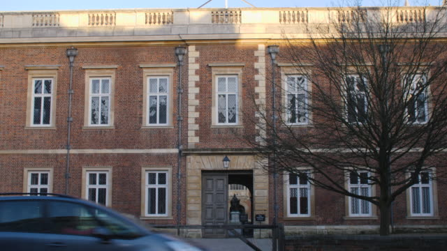 exterior shot of eton college, windsor. - facade stock videos & royalty-free footage