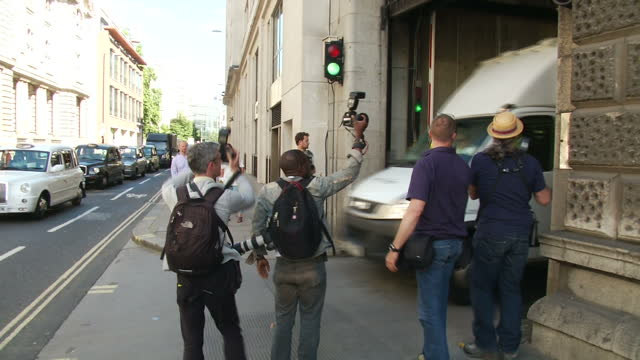 clean exterior shots andy coulson hacking trial - andy coulson stock videos & royalty-free footage