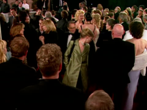 exterior shots anna nicole smith chatting to people at the oscars miramax party anna nicole smith at miramax party on march 21, 1999 in los angeles,... - 71st annual academy awards stock videos & royalty-free footage
