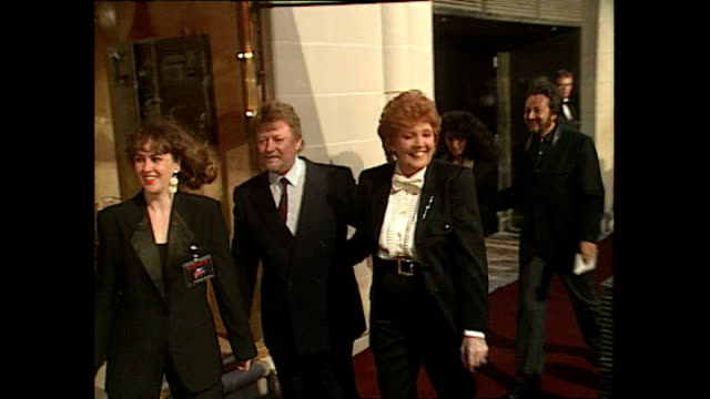 Exterior shots Artist Cilla Black at Opening of Planet Hollywood Restaurant in London on May 17 1993 in London England
