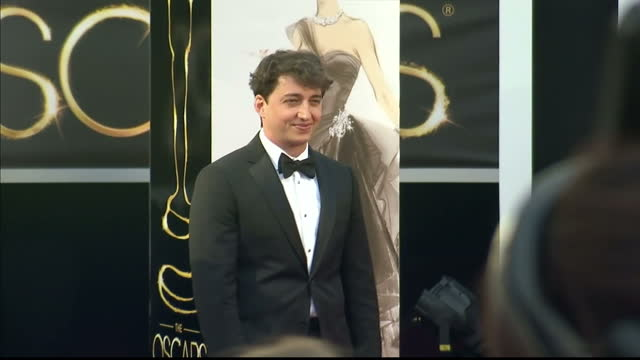 Exterior shots Beasts of Southern Wild director Benh Zeitlin poses on the red carpet Benh Zeitlin Poses on the Red Carpet at Dolby Theatre on...