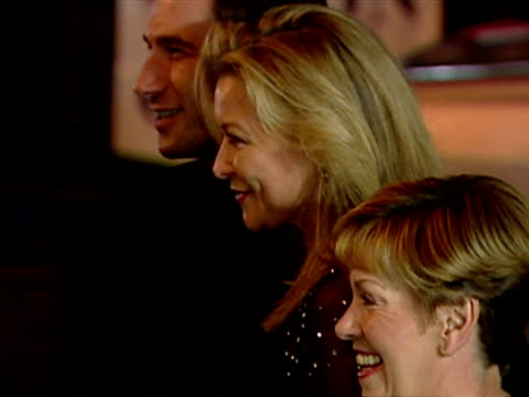 Exterior shots Claire King actress posing for photo op as she arrives at National TV Awards Claire King Actress Poses for Snappers on October 23 2001...