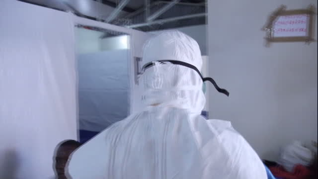 exterior shots from ebola outbreak - 2014 stock-videos und b-roll-filmmaterial