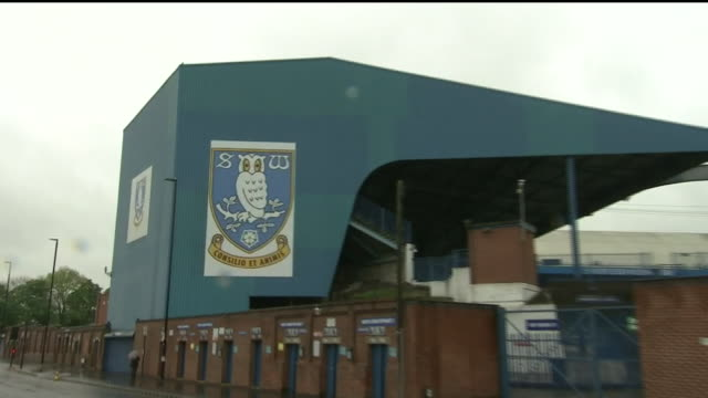 exterior shots hillsborough stadium, home of sheffield wednesday on 17th may 2017, sheffield, england - hillsborough stadium stock videos & royalty-free footage