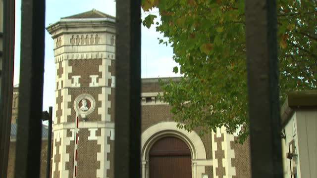 Exterior shots HM Prison Wormwood Scrubs on October 22 2017 in London England