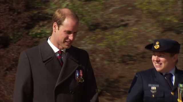 exterior shots hrh prince william duke of cambridge visiting hodogaya british commonwealth war graves on february 27 2015 in tokyo japan - imperium bildbanksvideor och videomaterial från bakom kulisserna