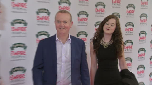 exterior shots ian hislop poses on red carpet on march 30, 2014 in london, england. - ian hislop stock videos & royalty-free footage