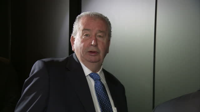 exterior shots julio grondona, senior vice president fifa, arrives at the football governing body's headquarters in zurich, switzerland. fifa has... - fifa stock videos & royalty-free footage
