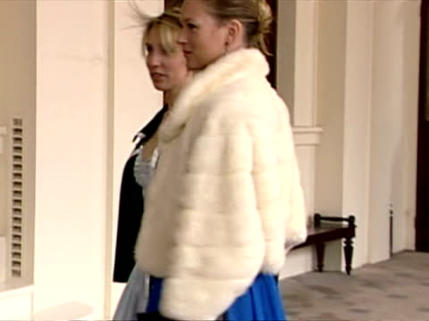 Exterior shots Kate Moss and Sam Taylor Wood arrive at Buckingham Palace for Queen's reception Kate Moss Archive at Buckingham Palace on March 11...