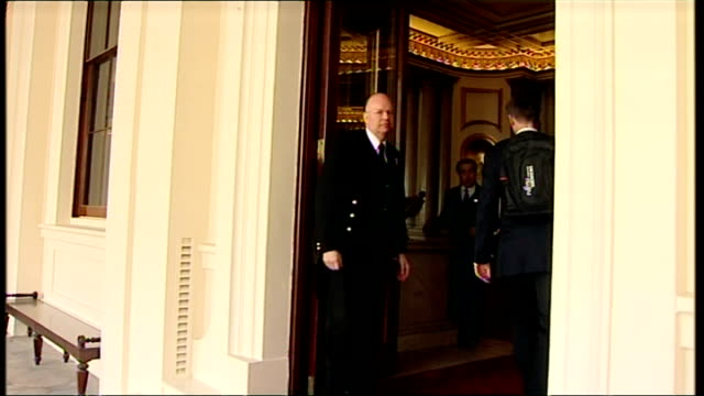 Exterior shots members of the new cabinet arrive at Buckigham Palace Owen Paterson Chris Huhne Jeremy Hunt Sir George Young Caroline Spelman Cheryl...