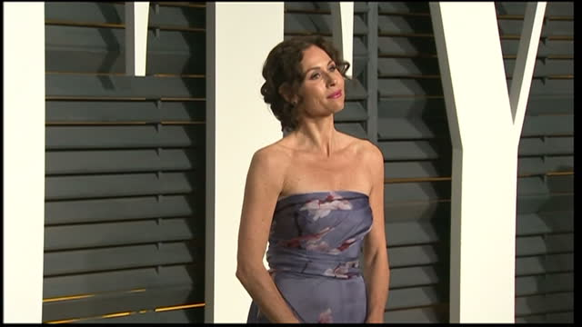 exterior shots minnie driver posing on february 22 2015 in los angeles california - minnie driver stock videos and b-roll footage