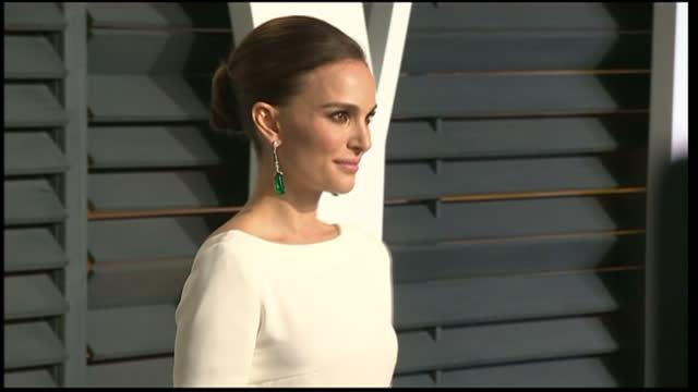 Exterior shots Natalie Portman posing on February 22 2015 in Los Angeles California