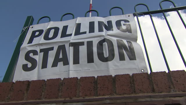 exterior shots of a building used as a polling station in birmingham on 6th may 2021, united kingdom - ballot box stock videos & royalty-free footage