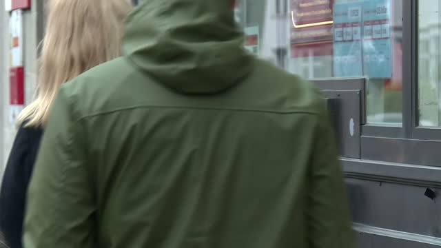 exterior shots of a closed post office branch with strike action sign on the front door on december 19 2016 in muswell hill london united kingdom - post office stock videos & royalty-free footage