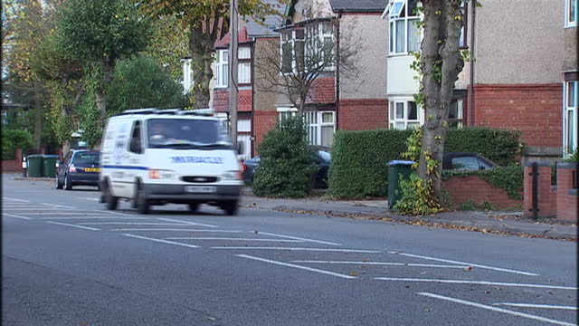 exterior shots of a cycle courier cycling through streets delivering parcels coventry cycle courier at work on october 28 2009 in coventry england - coventry stock videos & royalty-free footage